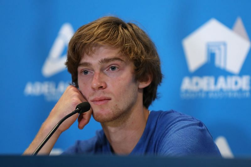 Andrey Rublev lost his last US Open meeting against Jeremy Chardy