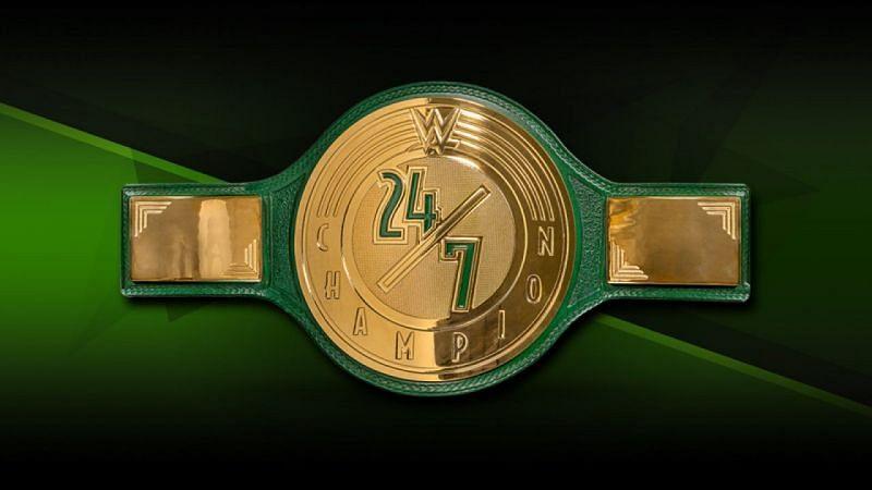WWE 24/7 Championship Belt