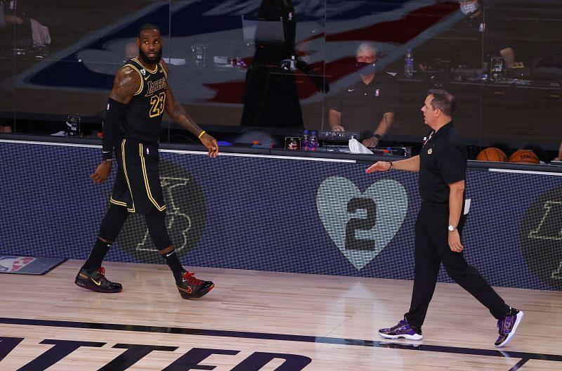 Los Angeles Lakers v Portland Trail Blazers - Game 4