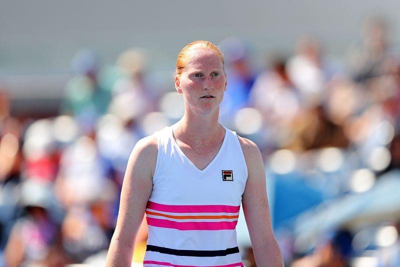 Alison van Uytvanck has struggled for good results in New York.