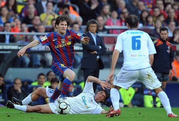 Lionel Messi may not have good memories of playing against Xerez.
