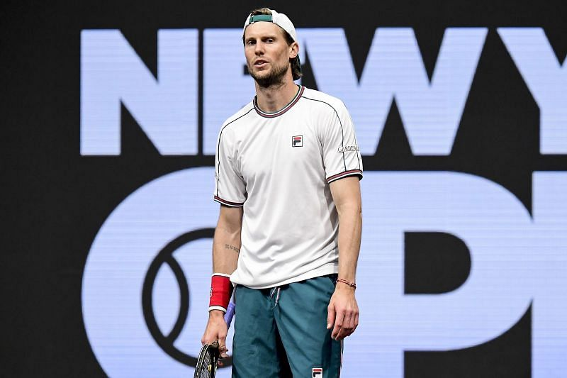 Andreas Seppi at the 2020 New York Open