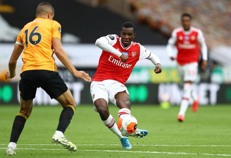 Could Eddie Nketiah help to ease Arsenal