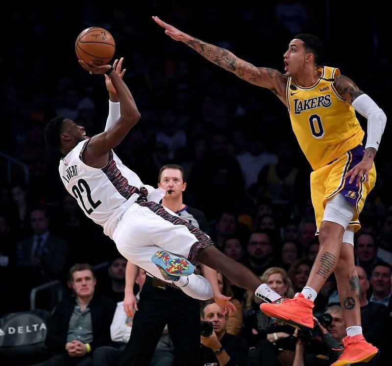 Caris LeVert vs the Los Angeles Lakers