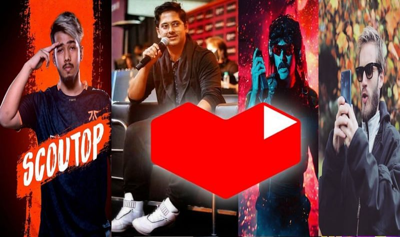 Youtube Gaming stars of today