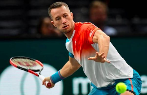 Philipp Kohlschreiber will look to draw parity in his head-to-head with Vasek Pospisil.