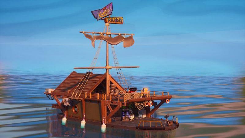 The Secret Pawntoon Ship in Fortnite Season 3