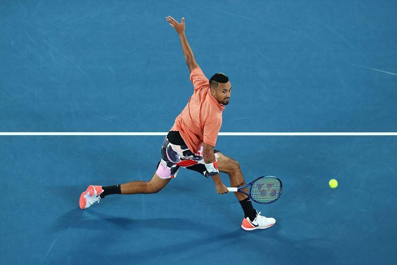 Nick Kyrgios has beaten Rafael Nadal on hard court two times