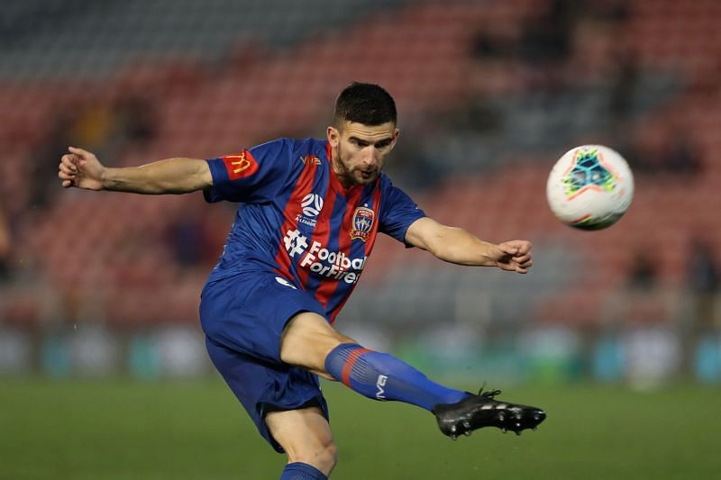 The Newcastle Jets will try to cause an upset