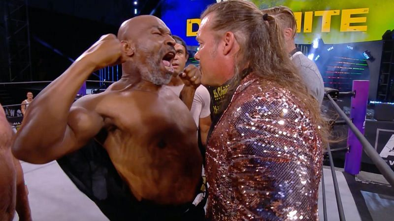 Mike Tyson and Chris Jericho