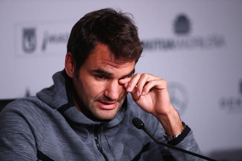 Roger Federer had a tumultuous 2016