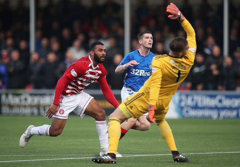 Hamilton Academical v Rangers has either promised a fair few goals, or none at all!