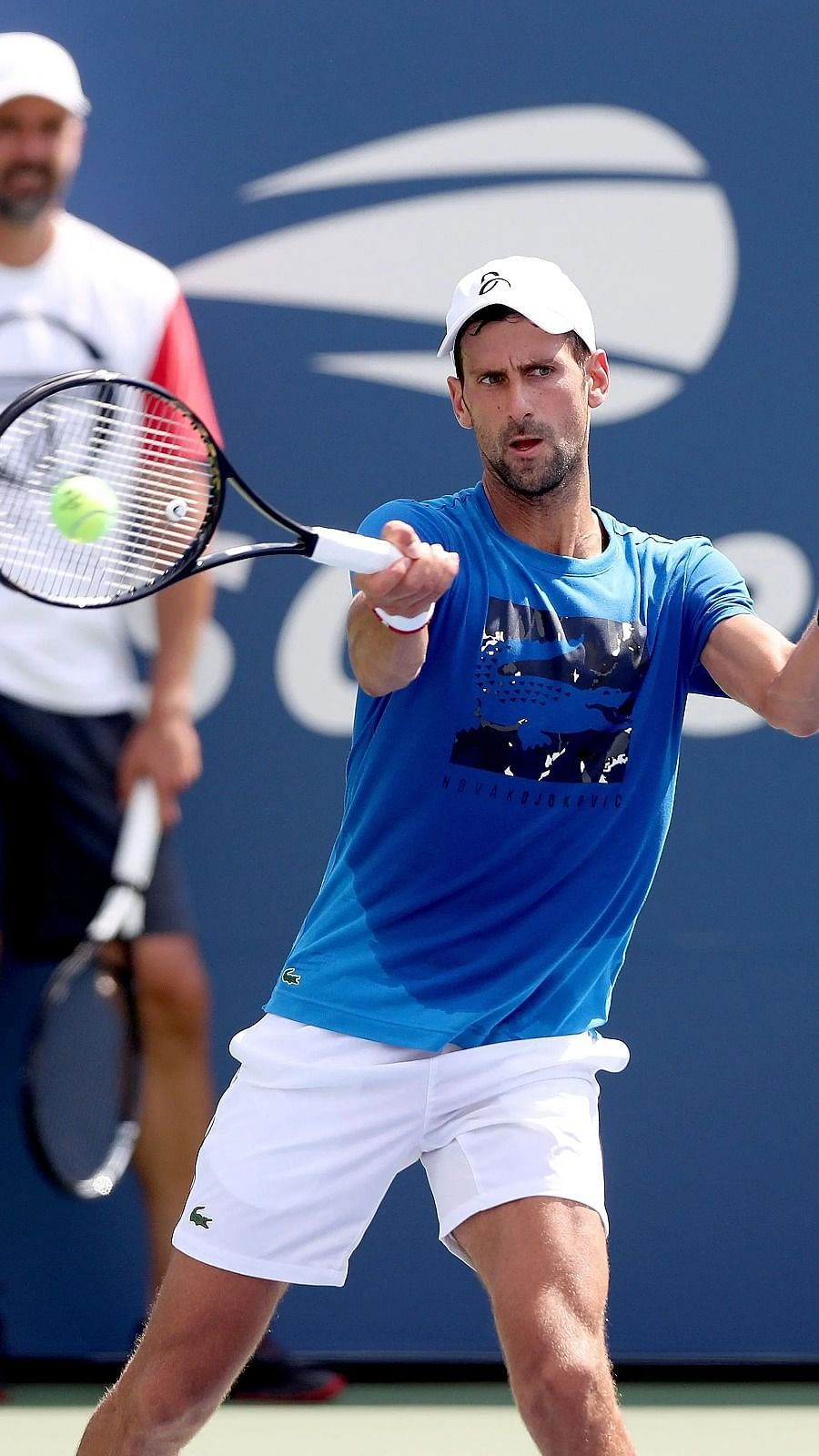 We Can T Move Anywhere Without Security Novak Djokovic S Coach On Us Open Bubble