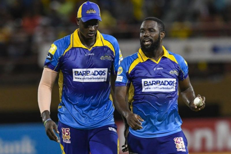 Jason Holder(L) will look to lead his side to another title-winning CPL campaign