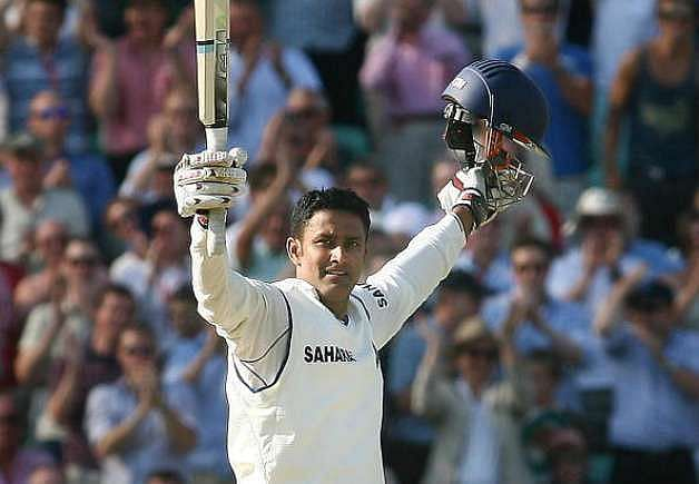 Anil Kumble scored a century against England at the Oval