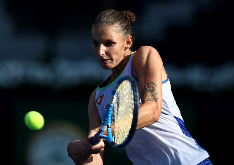 Karolina Pliskova is expected to make short work of her opponent