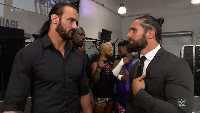 Drew McIntyre and Seth Rollins had an interesting exchange backstage