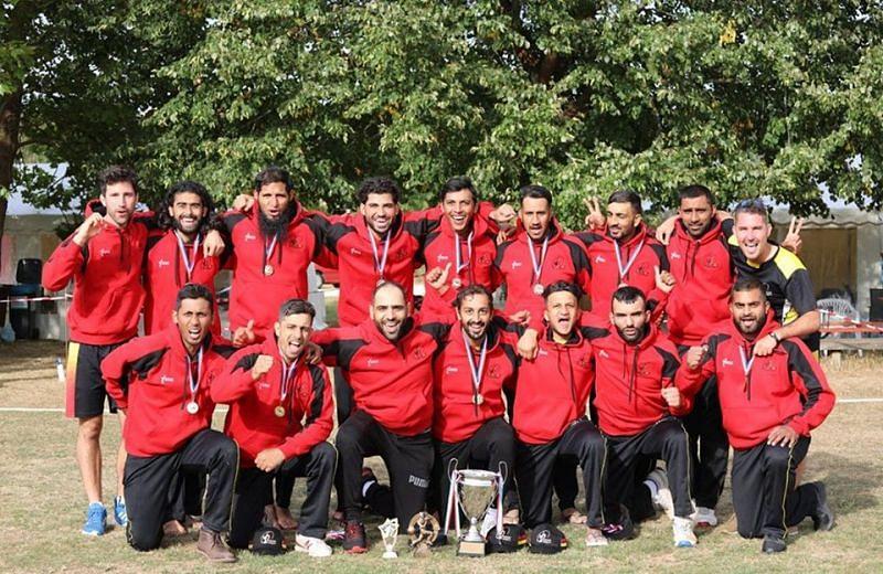 टी20 सीरीज विजेता बेल्जियम टीम