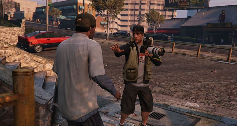 We would love to get another shot at being a paparazzo and being a menace to celebs (Pictures: Rockstar Games)