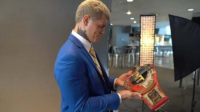 Cody is the current AEW TNT Champion