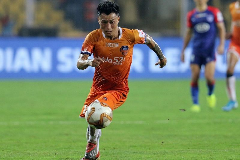 Jackichand Singh with FC Goa