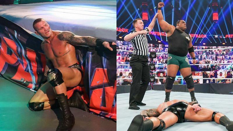 Keith Lee beat Randy Orton at Payback.