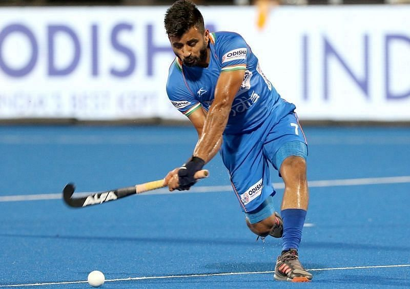Manpreet Singh is the captain of the Indian men