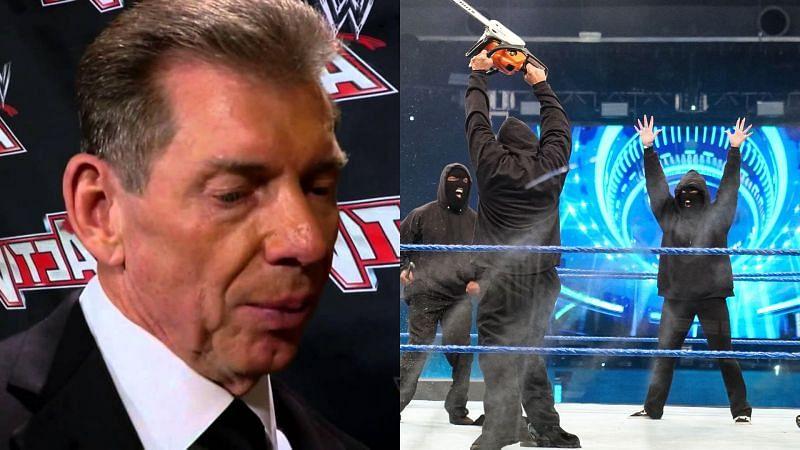 Vince McMahon and RETRIBUTION.