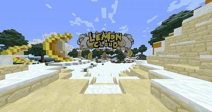 Lemon Cloud (Image credits: Planet Minecraft)