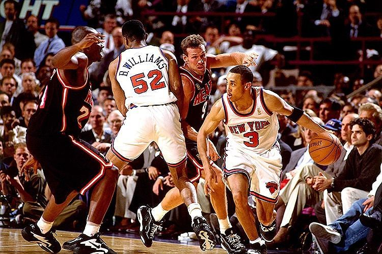Miami Heat vs New York Knicks 1997 [Credits: NBA]