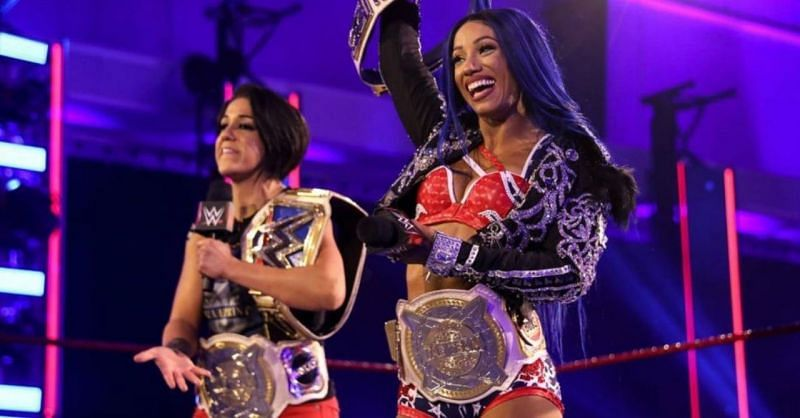 Bayley Dos Straps and 2 Belts Banks have dominated RAW, SmackDown and NXT in recent months