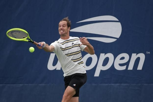 Richard Gasquet takes on Ivo Karlovic in his 2020 US Open opener.