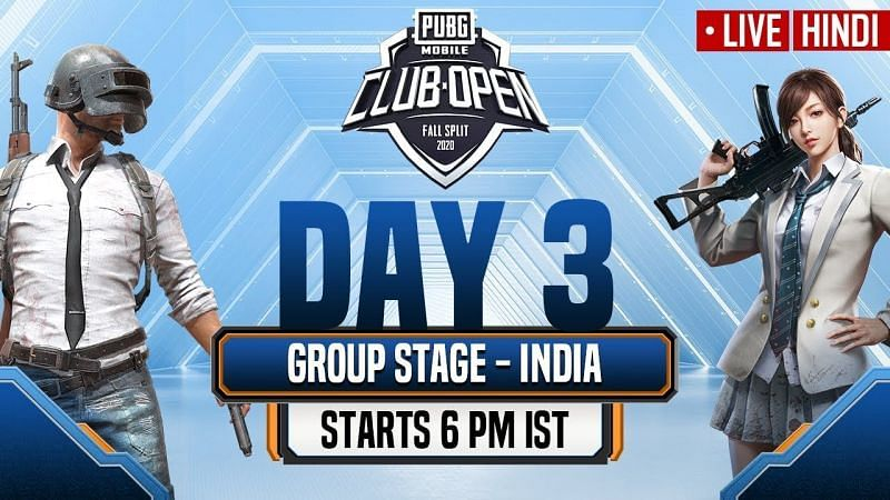 PUBG Mobile Club Open Fall Split India 2020 (Image Credits: PUBG Mobile Esports)