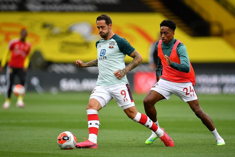 Danny Ings has led the line well for Southampton