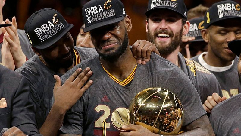 LeBron James led the 2016 Cleveland Cavaliers to the most famous comeback in the NBA history