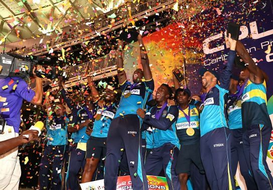 Barbados Tridents will be defending their CPL crown.