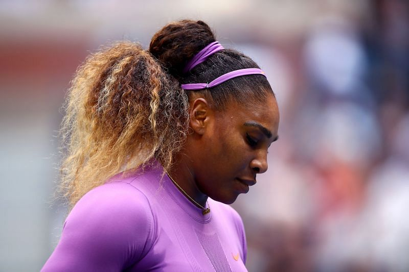 Serena Williams had to come through a tough opening match.