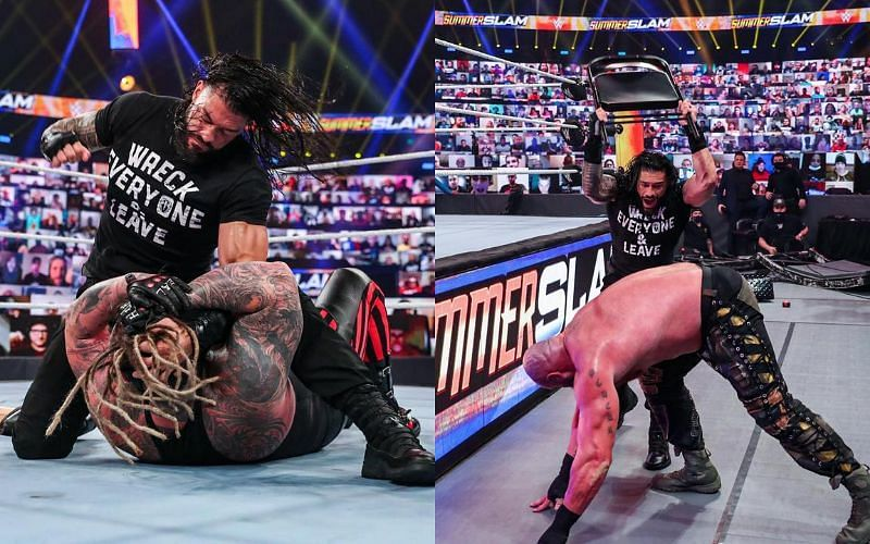 Roman reigns made a huge return at SummerSlam last night
