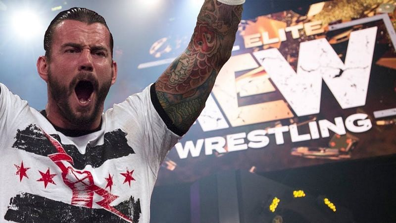 CM Punk has revealed who he would like to work with from the AEW roster