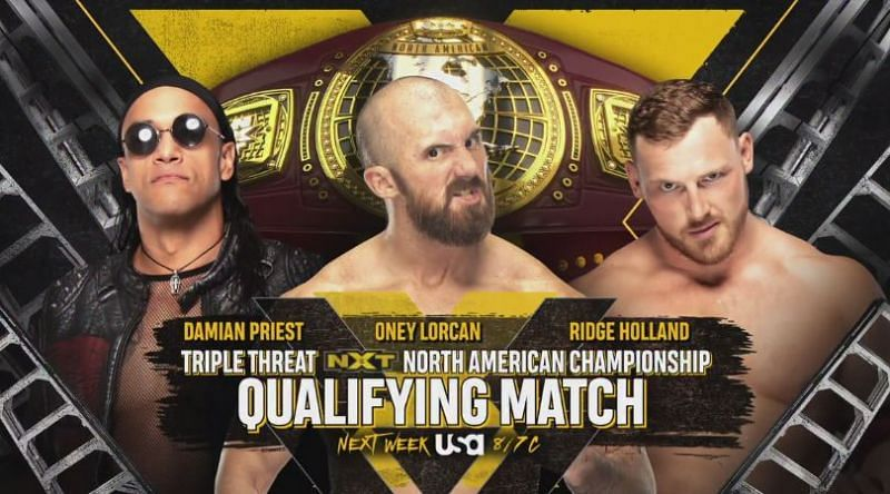 Damian Priest qualifies for NXT North American Championship Ladder Match at TakeOver: XXX