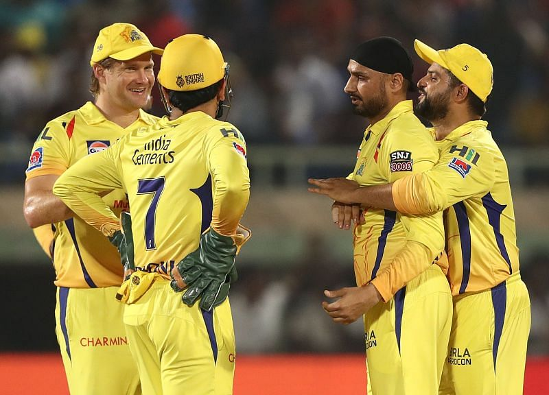 Harbhajan Singh is a part of CSK right now.