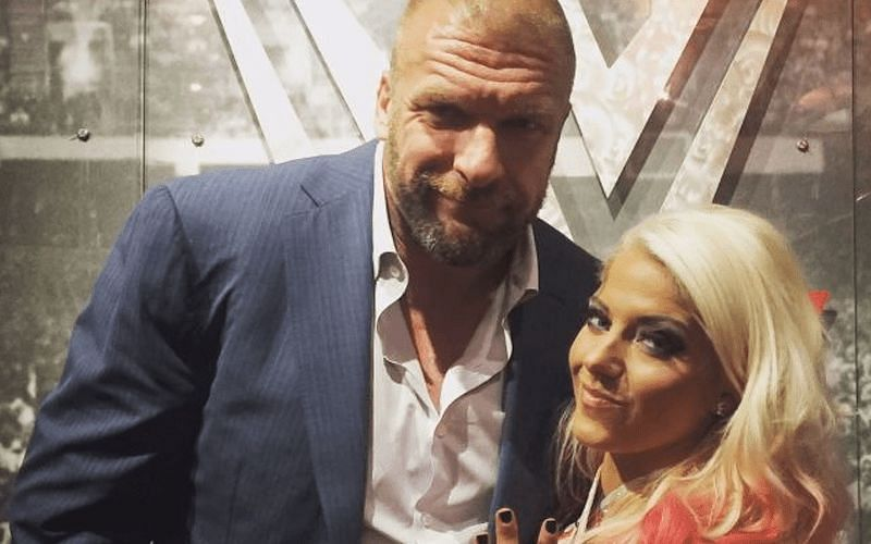 Triple H and Alexa Bliss