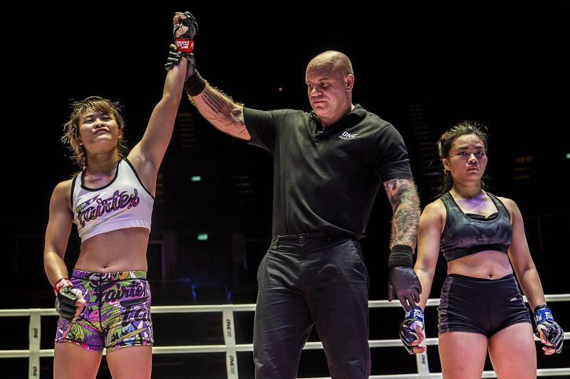 ONE Atomweight Muay Thai World Champion Stamp Fairtex of Thailand is one of the hottest talents in martial arts today