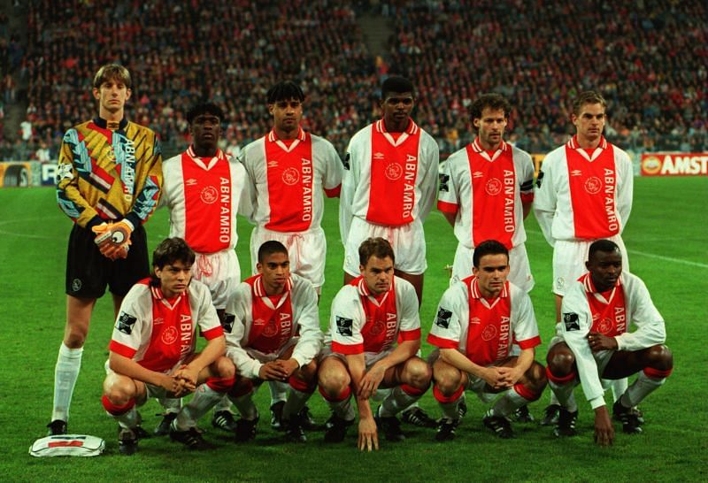 A young Ajax side dominated Europe
