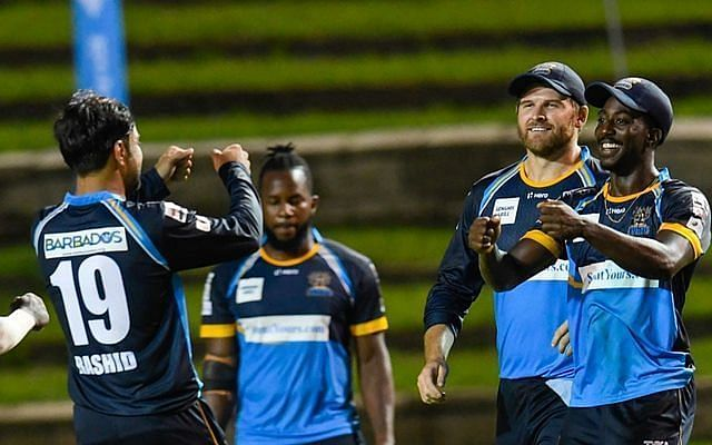 The Tridents bowled well in their fist CPL game of the season.