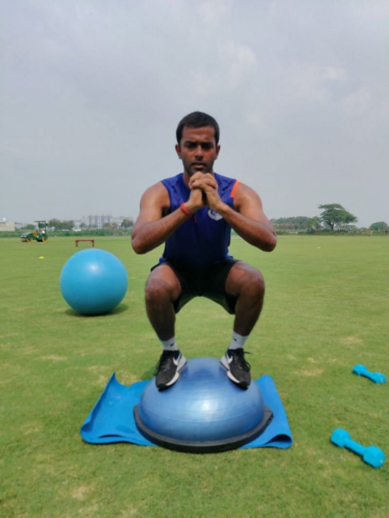 The 30-year-old has constantly been working on his fitness even during the pandemic.