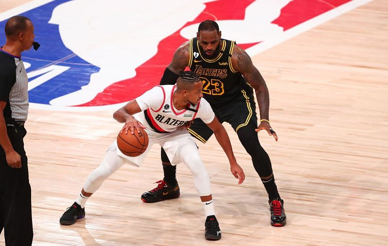 The Portland Trail Blazers were knocked out by the LA Lakers in five games