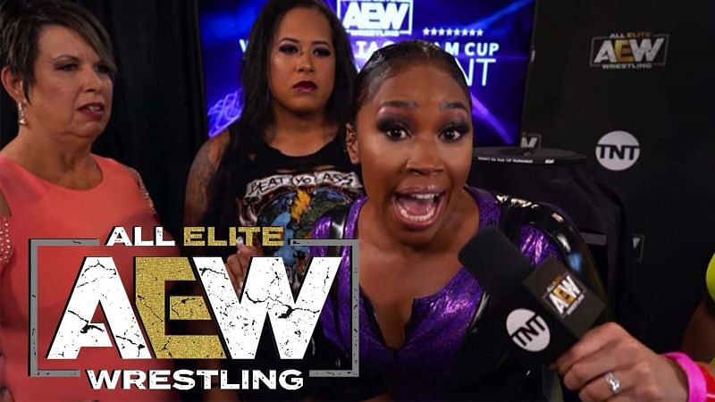 Ariane Andrew has given an update on her current status with AEW