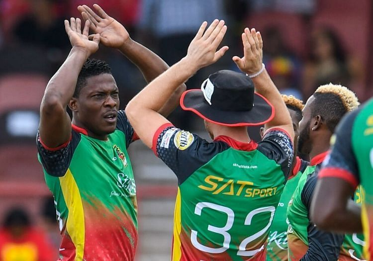 Sheldon Cottrell bowled well in the last CPL match