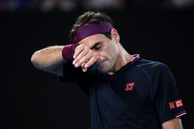 Roger Federer at 2020 Australian Open